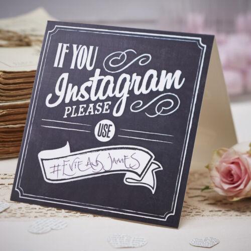 Mariage Instagram Signes x 5-Look Vintage Signes