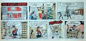 Rick-O-039-Shay-by-Stan-Lynde-full-color-Sunday-comic-page-December-15-1974