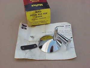 1960-61-62-63-64-65-66-Mirror-NOS-MoPar-Polara-Fury-Dart-Cuda-GT-300-Twin-Post