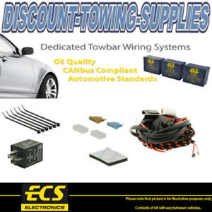 Astonishing Ecs Sp135Zz Towbar Dedicated Wiring Kit 2 Cable Self Switching Wiring 101 Akebretraxxcnl