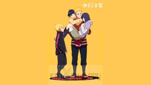 Poster A3 Boruto Next Generations Uzumaki Naruto Boruto Hinata Himawari Manga 01