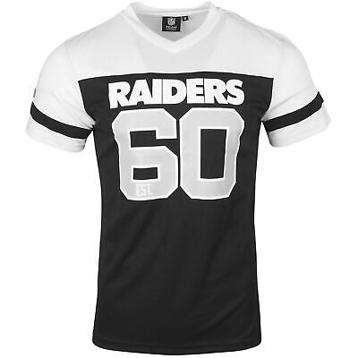 NFL Oakland Raiders Poly Mesh T Shirt Mens S M L XL Training Jersey