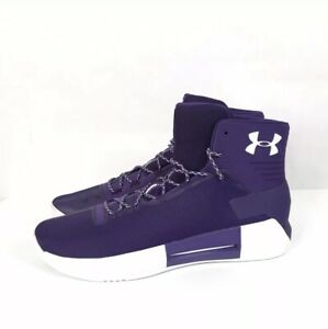 95b33c3dd57 Under Armour Drive 4 Basketball Shoes Size 18 Purple-White 1303010 ...