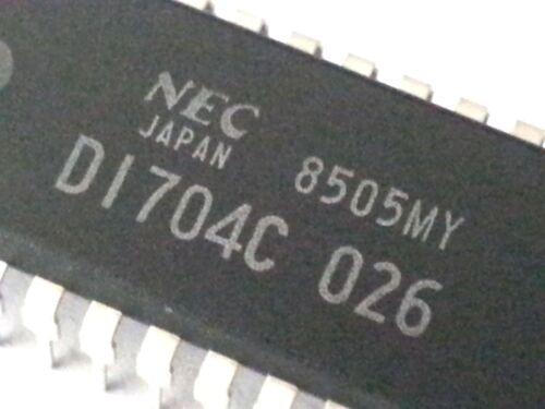 Integrated Circuit D1704C 026 NEC UPD1704C IC Japan UPD1704C-026 NOS