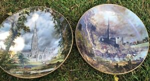 Pair-of-Salisbury-Cathedral-COALPORT-by-John-Constable-Collective-Plate