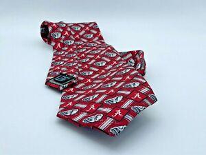 University of Alabama Neck Tie Roll Tide Elephant Eagle Wings Brand