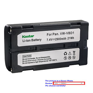 Replacement Battery for PANASONIC VDR-M70 VDR-M70B VDR-M70EG-S VDR-M70K VDR-M70PP VDR-M75 VDR-M75E-S VDR-M95