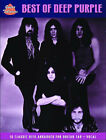 Deep Purple: The Best of (Guitar Tab) by Faber Music Ltd (Paperback, 2006)