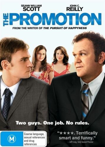1 of 1 - The Promotion (DVD, 2009) Region 4 Comedy DVD Rated M in Like NEW Condition