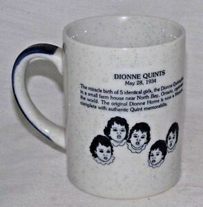 Dionne-Quints-Museum-Coffee-Mug-North-Bay-Ontario-Canada-5-Girls-Identical-Cabin