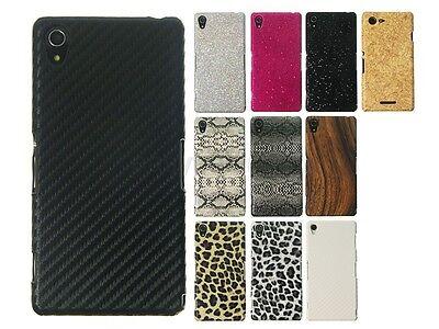 Pattern Hard Back Cover Case for Sony Xperia X Performance Z1 Z2 Z3 T3 C3 M2