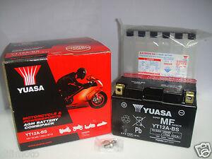 BATTERIA YUASA YT12A-BS SUZUKI SV 650 1999 2000 2001 2002