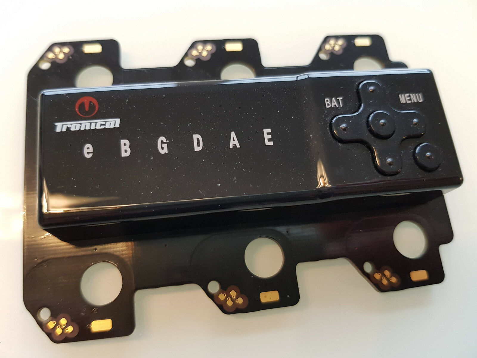TRONICAL Tune Plus Backplate Typ A für Gibson Les Paul, SG ES335, 339 und andere