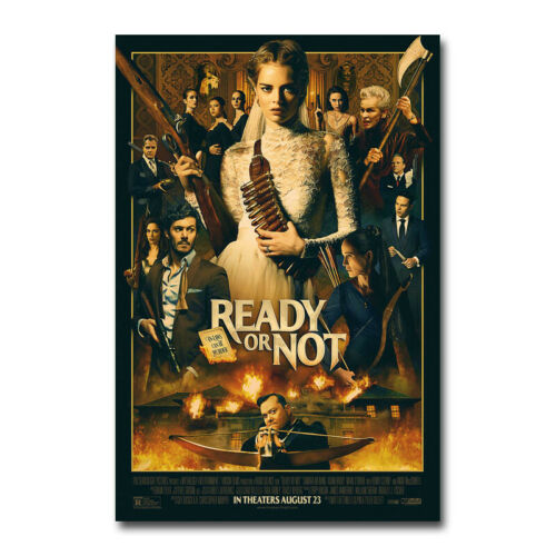 Ready Or Not Poster Movie 2019 New Art Silk Canvas Poster Print 12x18 24x36 inch