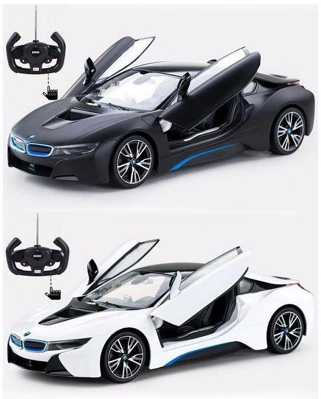 1 I8 14 BMW I8 1 COUPE Auto mit Fernsteuerung Ferngesteuertes RC MODELLAUTO NEU 7efc7d