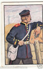 Artillery Train Prussia 1870 Deutsches Heer Germany Uniform IMAGE CARD 30s