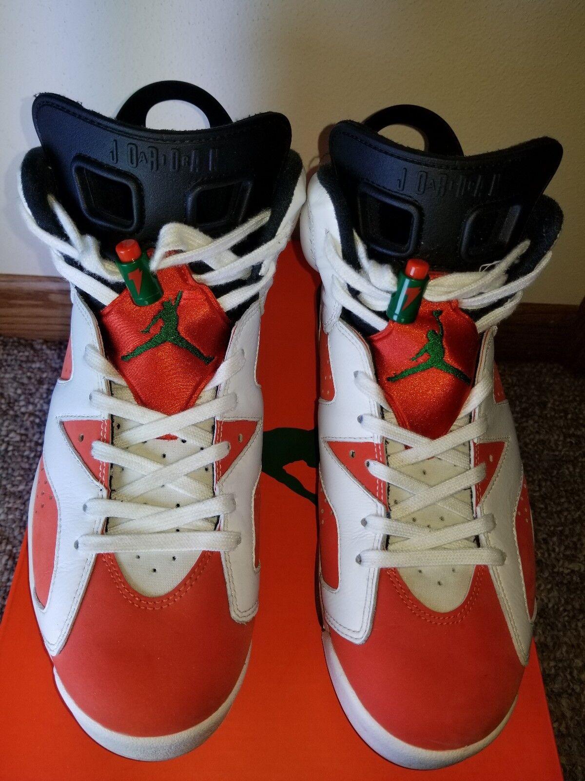 Air Jordan 6 Retro Gatorade Orange 384664 145 Size 9.5