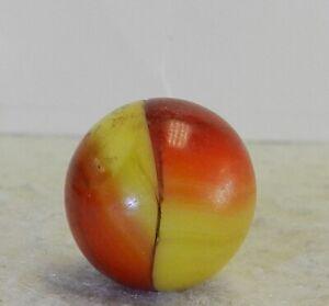 #10834m Vintage Akro Agate Ingot Marble .71 Inches