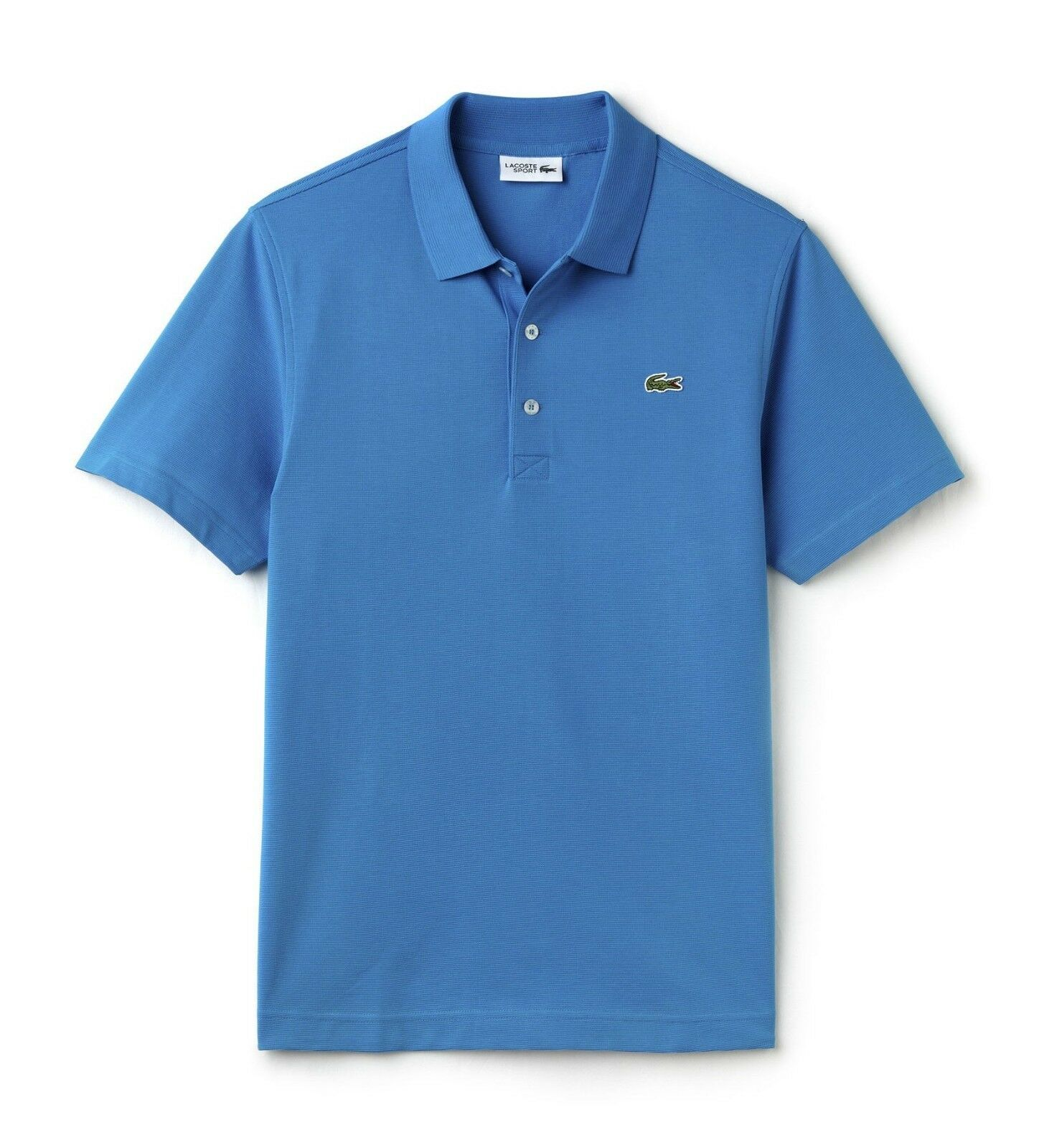 LACOSTE SPORT SLIM FIT POLO SHIRT BNWT - XXL T7 - blueE - YH4801