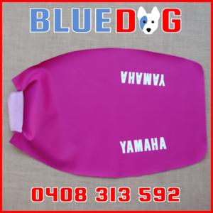 YAMAHA YZ125 YZ250  B1 D1 1991 91 92  MAGENTA SEAT COVER **Aust Stock** YP250