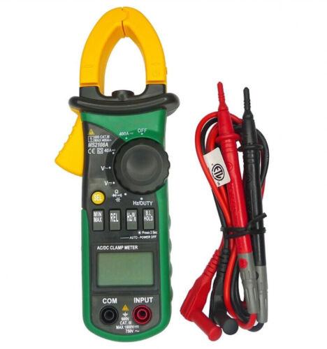 New Digital Clamp Meter Multimeter AC DC Current Volt Tester MS2108A