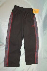 fee431a676d5 New Boys Black Red Champion C9 Duo Dry Athletic Drawstring Pants ...