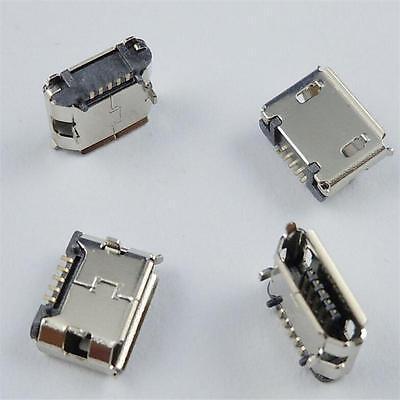 Sturdy Firm New 10 Pcs Micro USB B Female 5 Pin SMT Socket Connector WKAU