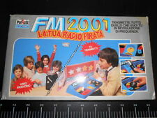 Gioco Tavolo Fm 2001 Radio pirata Polistil Electronic