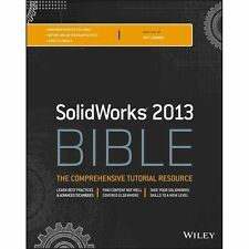 Solidworks 2013 Bible by Matt Lombard (2013, Paperback, Like New)