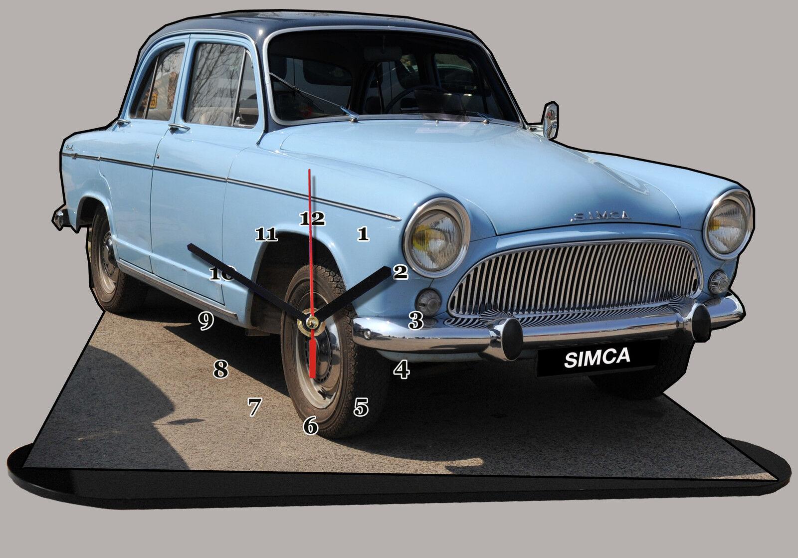 MINIATURE, MODEL CARS,    SIMCA P60 simca-p-60 en horloge 71368d