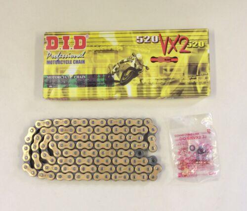 DID Gold X-Ring Chain KTM 690 Duke 2008-2018 VX 520-114