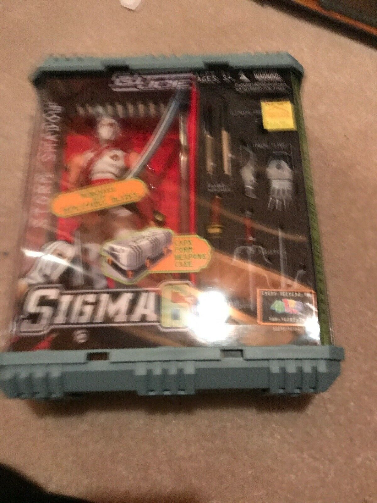 Go Joe Sigma 6 Storm Shadow Munchaku With Deploysble Blades