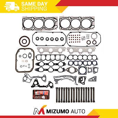 Fits 03-06 Mitsubishi Montero 3.8L SOHC Head Gasket Set Bolts 6G75