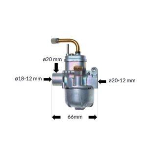 Tuning-Vergaser-fuer-Sachs-504-505-fuer-Hercules-Zuendapp-KTM-DKW-Kreidler-12-mm