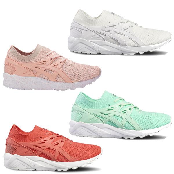2019 úLtimo DiseñO Asics Tigre Gel-kayano De Punto Trainer Zapatillas Mujer Zapatos Deportivos El Precio Se Mantiene Estable