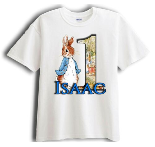 Birthday T-Shirt Party Favor Peter Rabbit Personalized