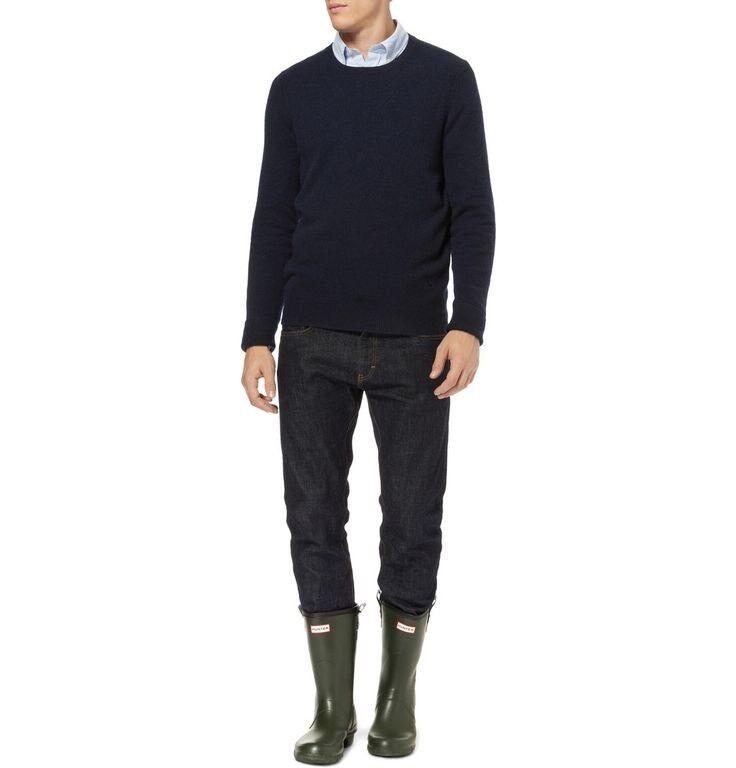 Original Hunter Short Short Short Wellington Stivali With Pull Tabs Size 12 () Dark Olive 118a6d