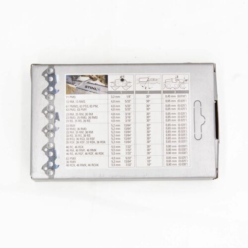 Stihl Sägekette Picco Super PS 3//8P 1.3 mm 50 TG Vollmeissel