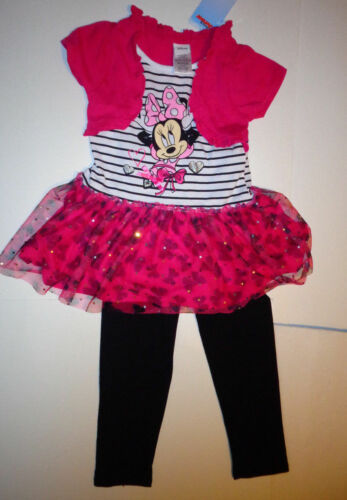 Disney Girls 2pc Outfit Minnie Mouse or Doc McStuffins Size 6 NWT