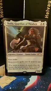 4x-Foil-Thalia-Guardian-of-Thraben-37-NM-Secret-Lair-MTG-Magic