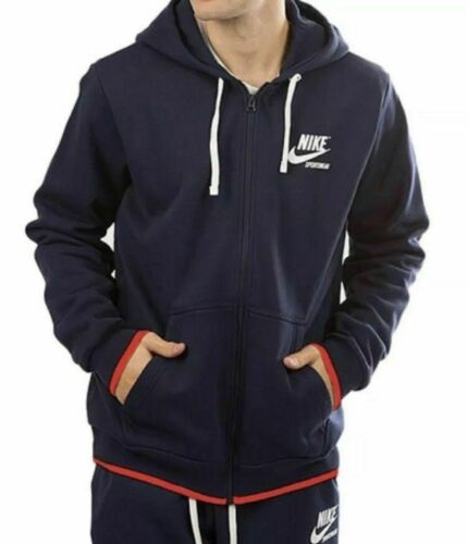 Aj7925 talla Sportswear Xl Azul Full Hoodie 451 marino Nike Hombres Zip Jacket Nwt x0RwUdqvq