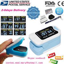 2017 US new Finger Tip Blood Oxygen SPO2 OLED Pulse Oximeter Heart Rate Monitor