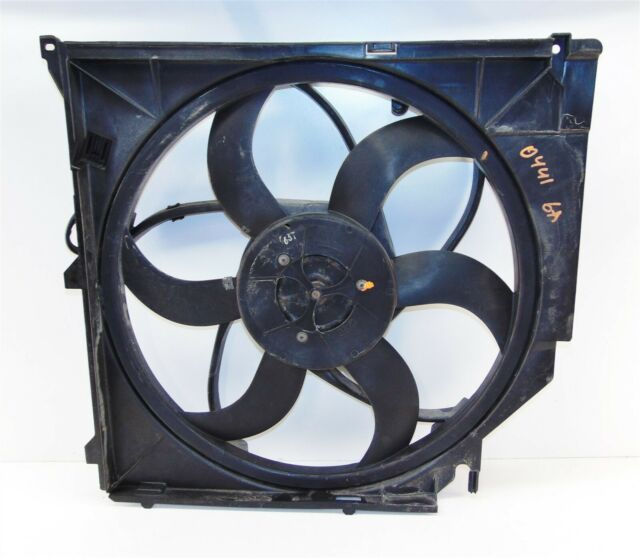 ELECTRIC RADIATOR COOLER CONDENSER FAN MANUAL TRANSMISSION