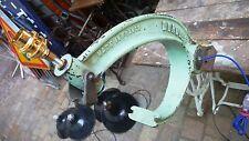 Machine Métier Atelier Usine DUROL Pied de Lampe établi Fonte Industrielle 1950