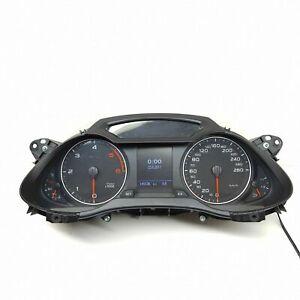 Audi-A4-S4-B8-Diesel-Km-H-Compteur-de-Vitesse-Instrument-Cluster-Compteur