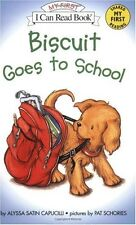 My First I Can Read: Biscuit Goes to School by Alyssa Satin Capucilli (2003, Paperback)