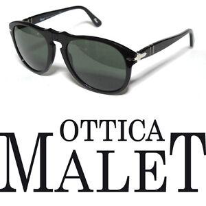 Détails De 9558 Lunettes Soleil Polarized 52 Noir Sur 649 Black Sunglasses Polarisé Persol 5RjL43qA