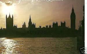 CARTOLINA ESTERA GREETINGS FROM LONDON LONDRA