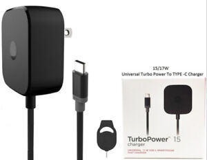 TurboPower-15W-Motorola-Adaptive-Fast-Home-Charger-For-Moto-Z-Z2-Force-Droid