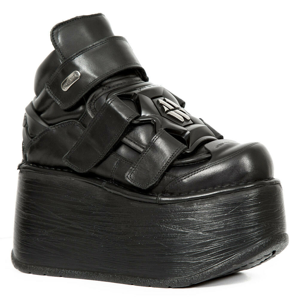 New New New Rock Nr M.EP285 S4 Negro-botas, Neptuno, Marte, De mujer  calidad garantizada